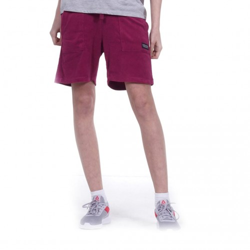 BODYACTION WOMEN TERRY SHORTS 031052-01 Μοβ