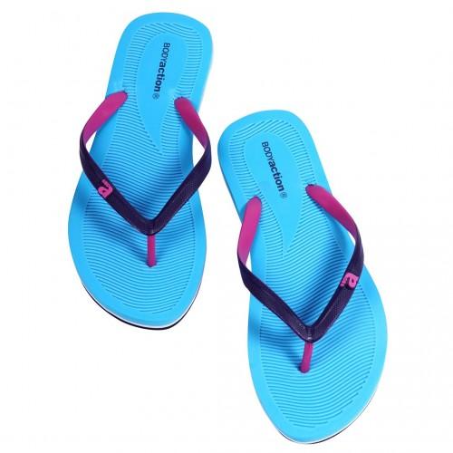 BODYACTION WOMEN SUMMER BEACH FLIP FLOPS 091003-01 Γαλάζιο