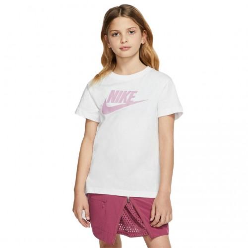 Nike SW Big Kids' T-Shirt AR5088-108 Λευκό