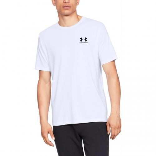 UNDER ARMOUR SPORTSTYLE LEFT CHEST 1326799-100 Λευκό