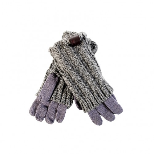 BODY ACTION CABLE KNITTED GLOVES 095707-01